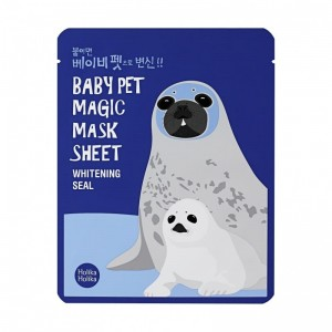 Maska tkaninowa - Baby Pet Magic Mask Sheet (Seal) - HOLIKA HOLIKA